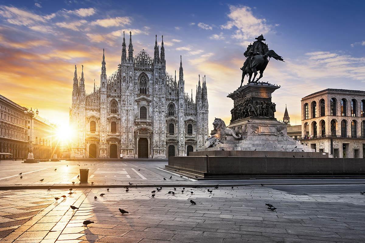 Italia Milano katedraali