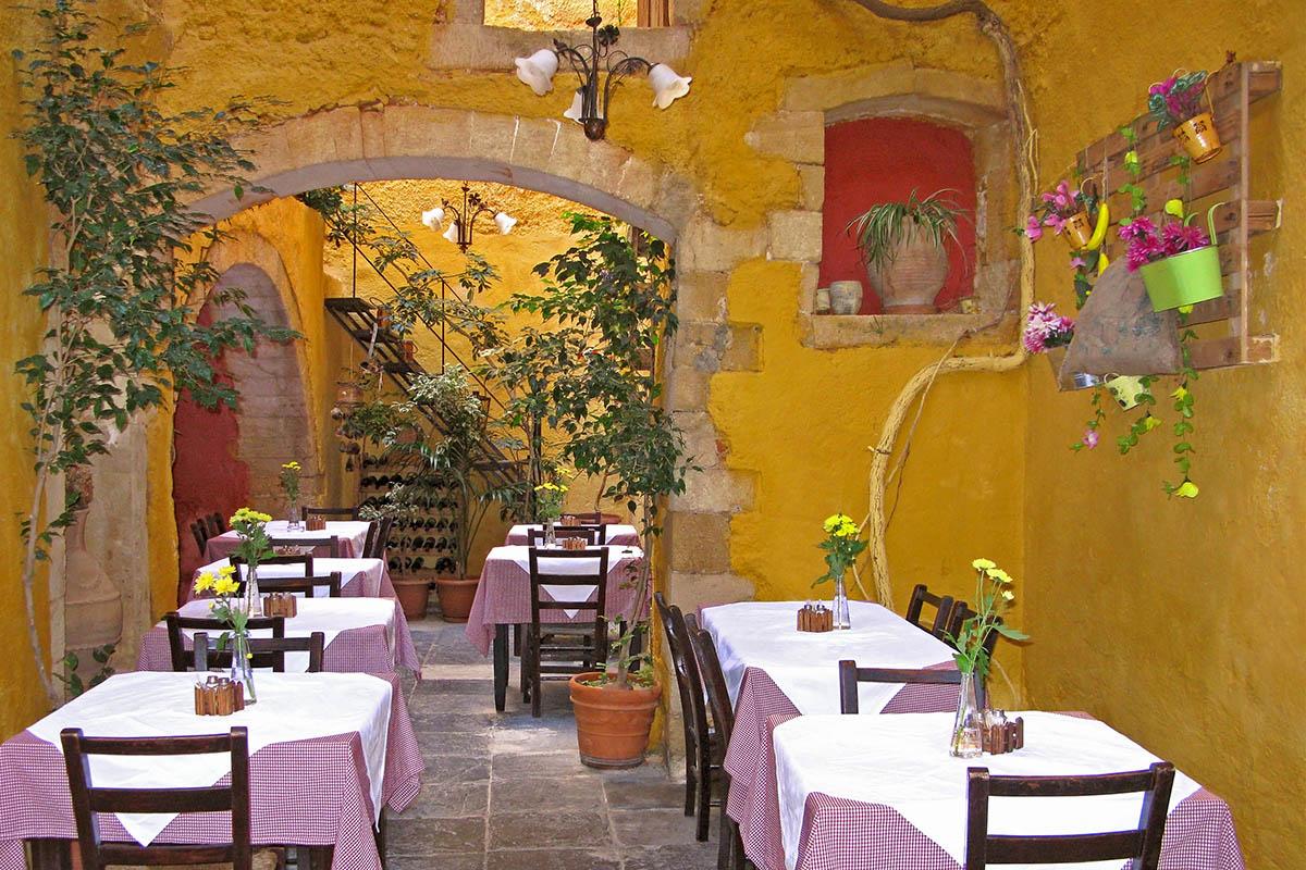 Kreeta Hania ravintola
