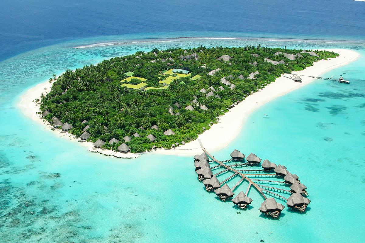 Malediivit paratiisisaari