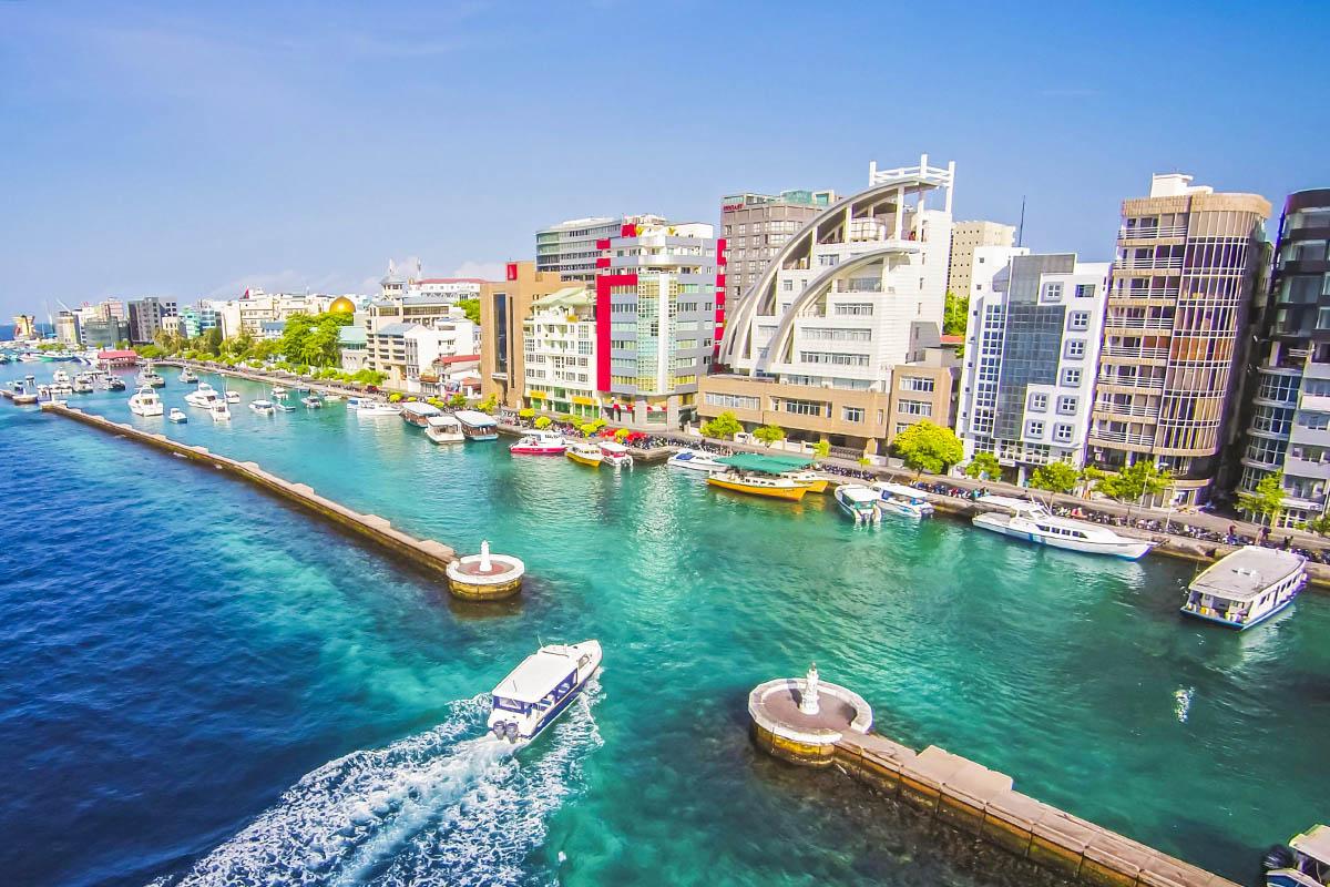 Malediivit Male pääkaupunki