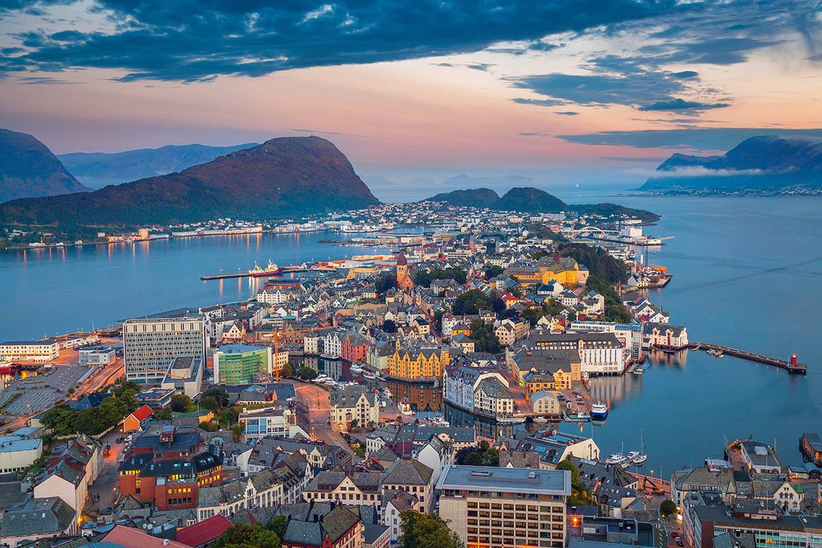 Norja Ålesund