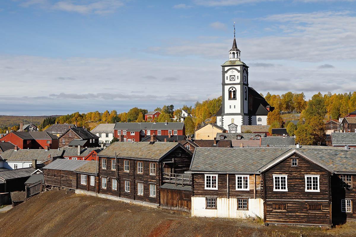 Norja Røros kylä