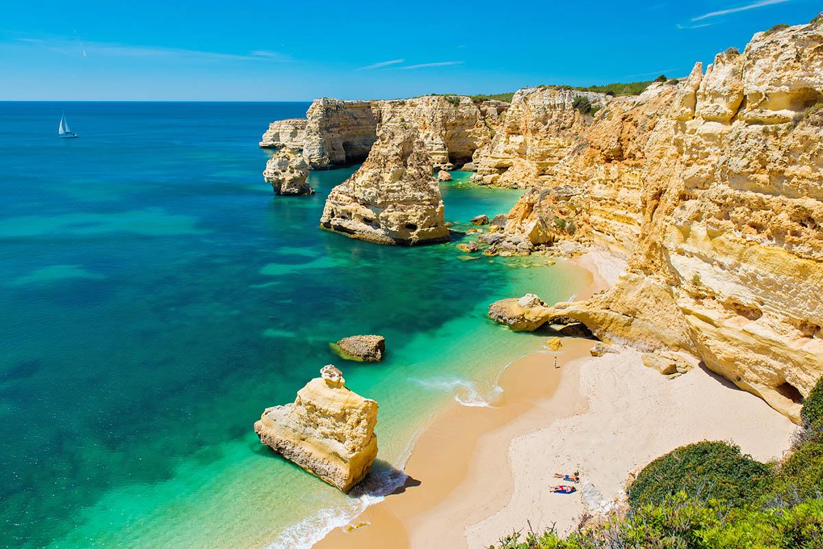 Algarve Opas Portugalin Ihanille Rannoille Kerran Elamassa