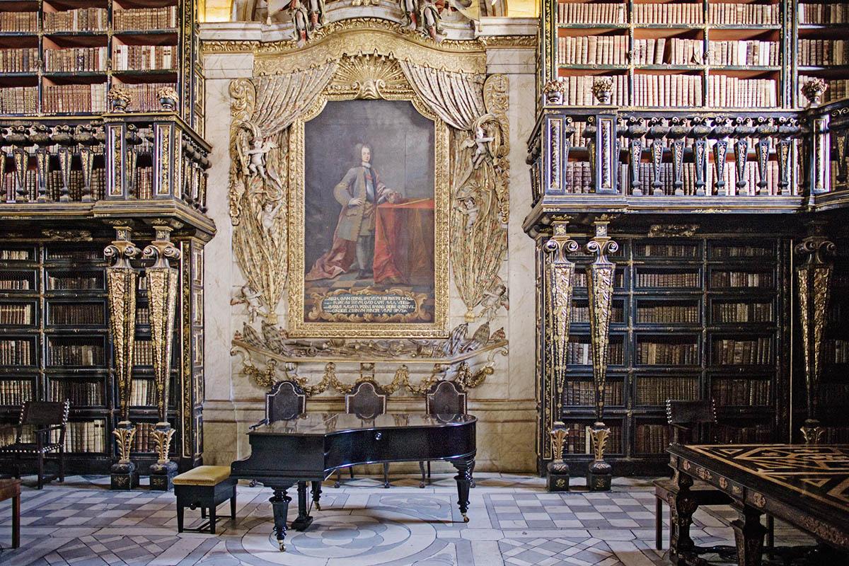 Portugali Coimbra kirjasto