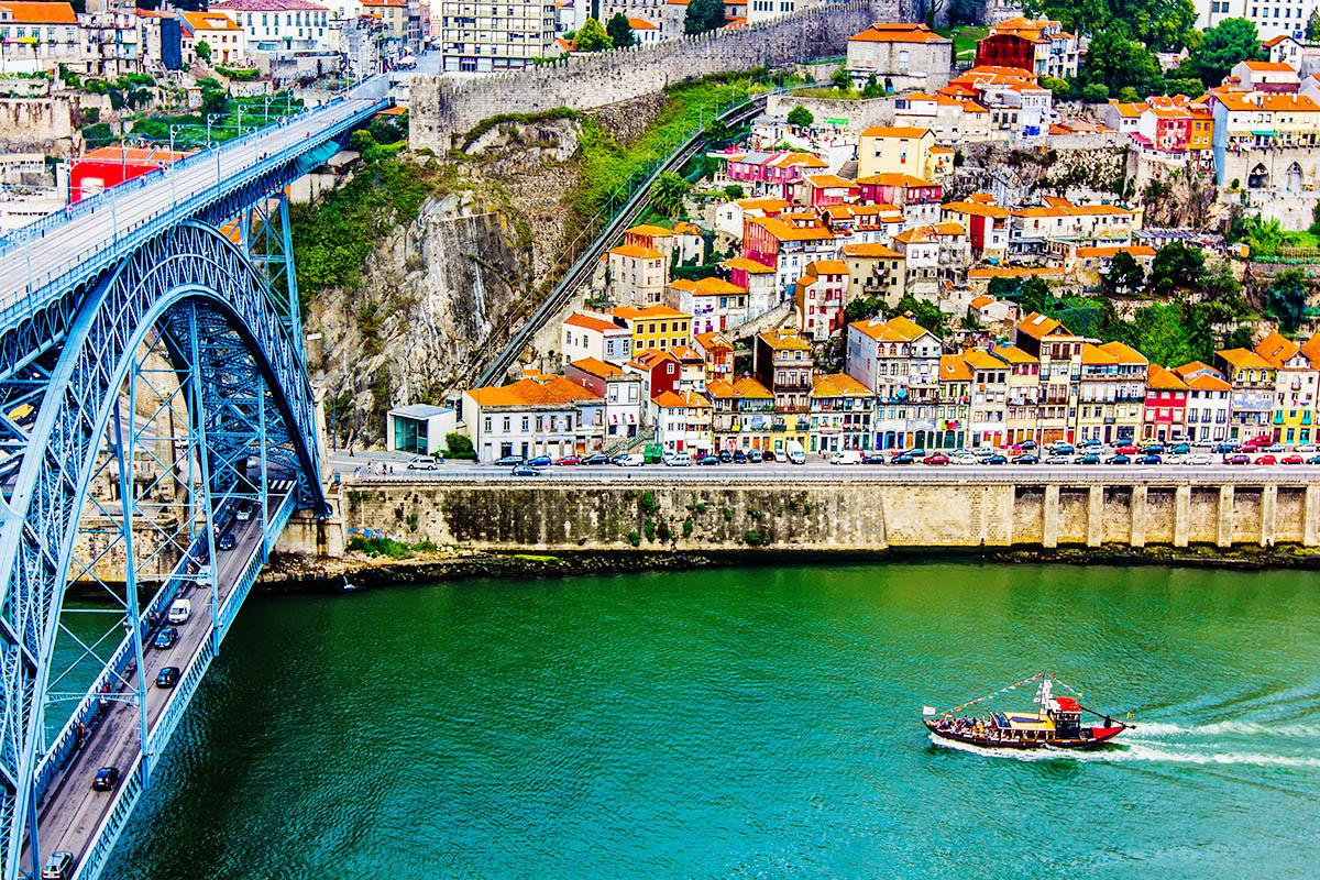 Portugali Porto Dom Luis silta