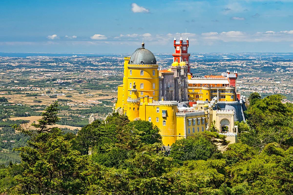 Portugali Sintra palatsi
