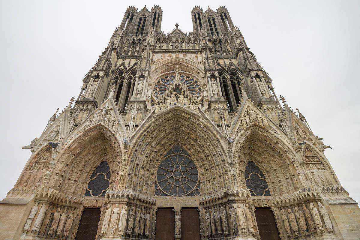 Reims katedraali