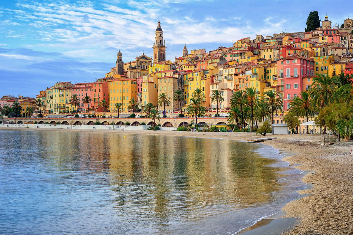 Menton Ranskan Riviera