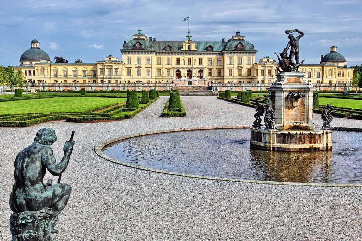 Drottningholmin linna Tukholma retkikohteet