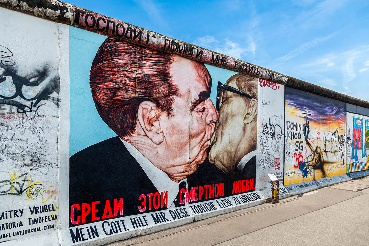 Berliinin muuri East Side Gallery