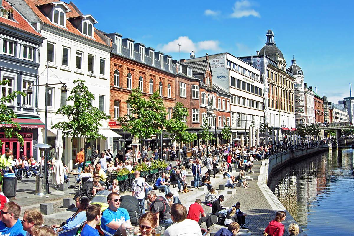 tanska matkailu Århus