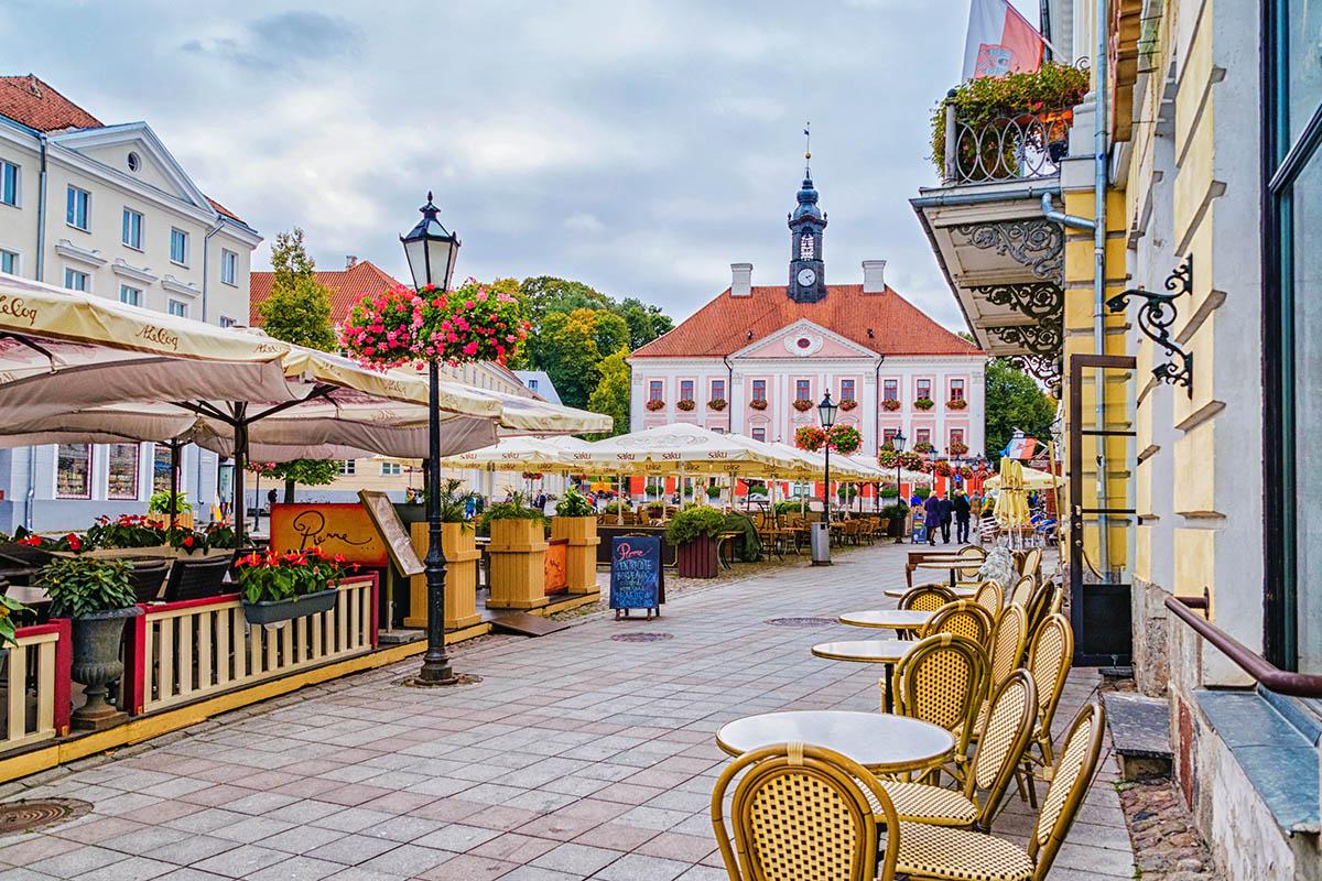 Tartto Viron Virea Kulttuurikaupunki Kerran Elamassa
