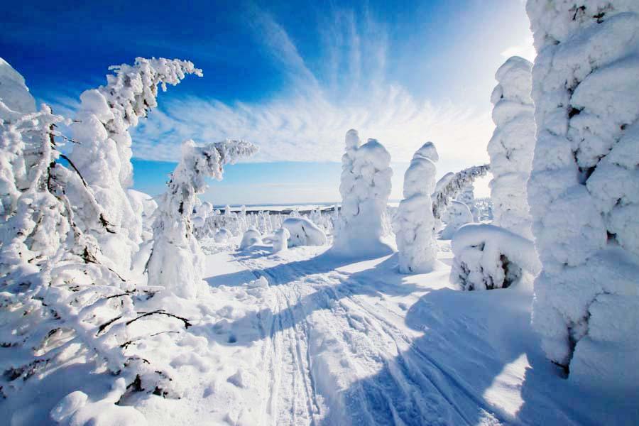 Nähtävyydet ja aktiviteetit Suomen Lapissa