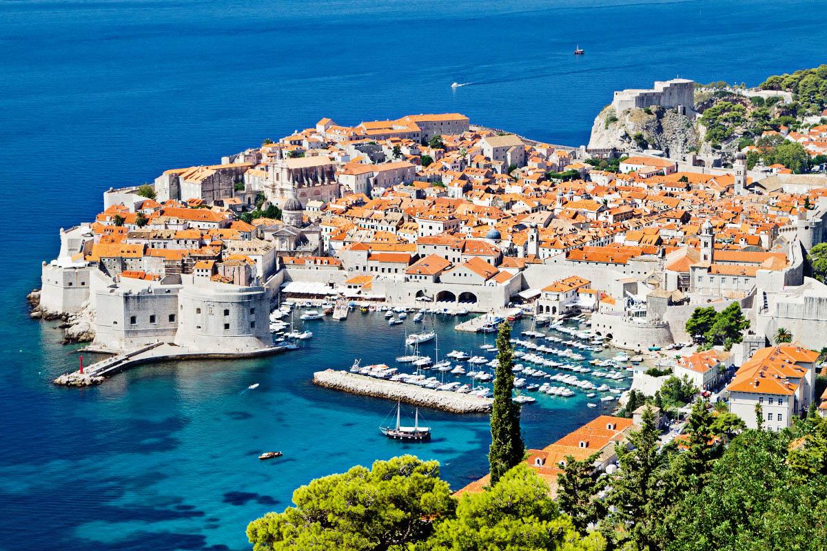 kroatia Dubrovnikin vanhakaupunki