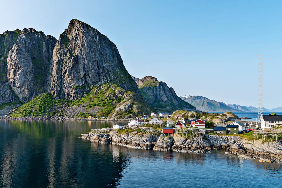 Vuorovesi Norjan Rannikolla