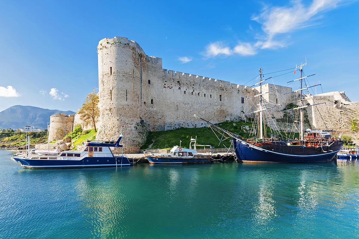 Kypros Kyrenia linna