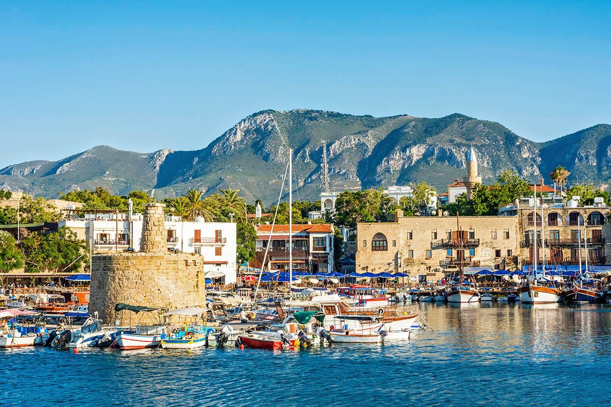 Kypros Kyrenia satama