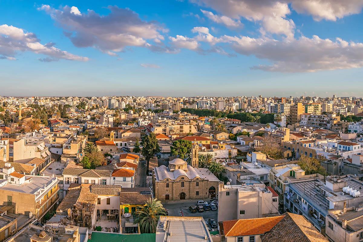 Kypros Nikosia vanhakaupunki