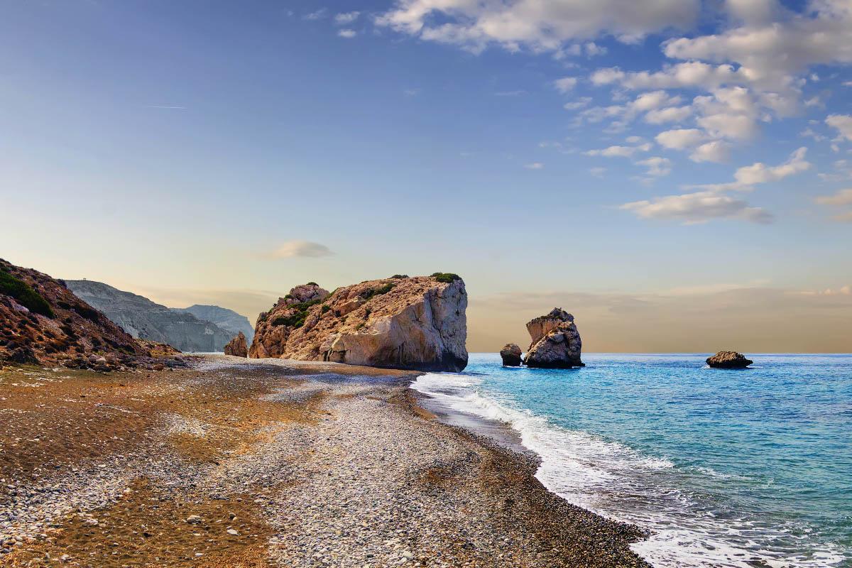 Kypros Afrodite ranta