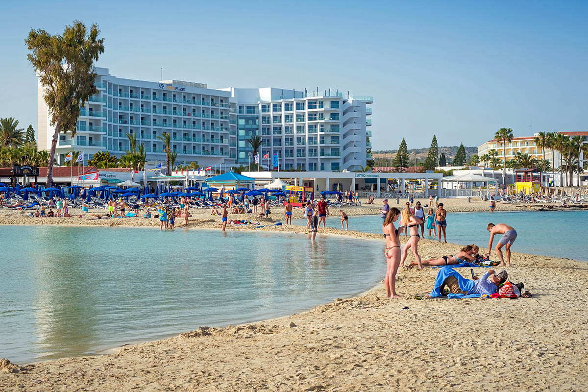 Kypros Nissi Beach ranta