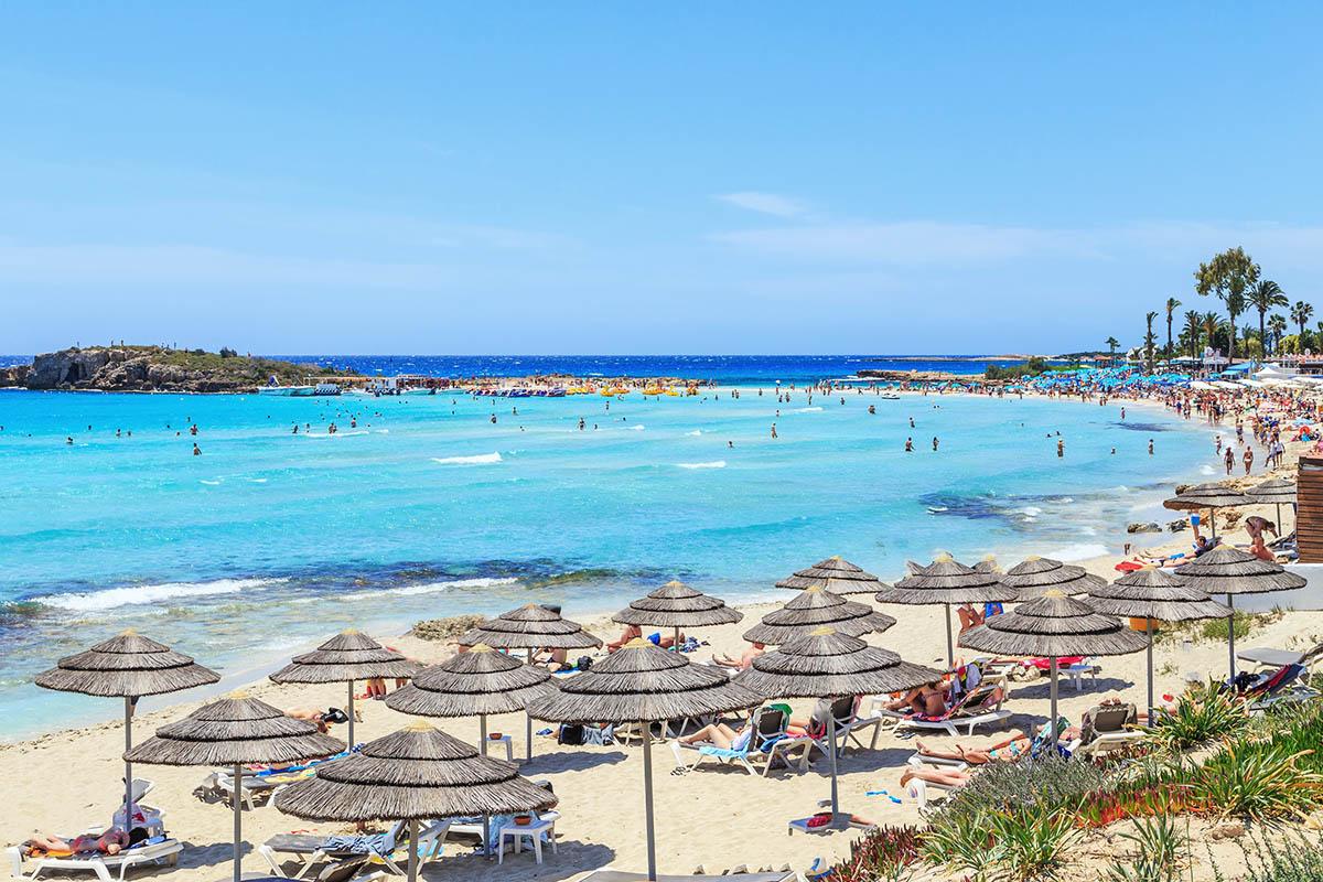 Kypros Agia Napa ranta