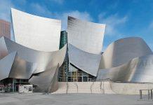 Downtown Los Angeles Walt Disney musiikkitalo