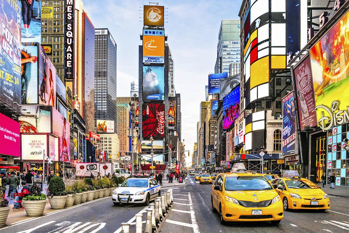 New York nähtävyydet