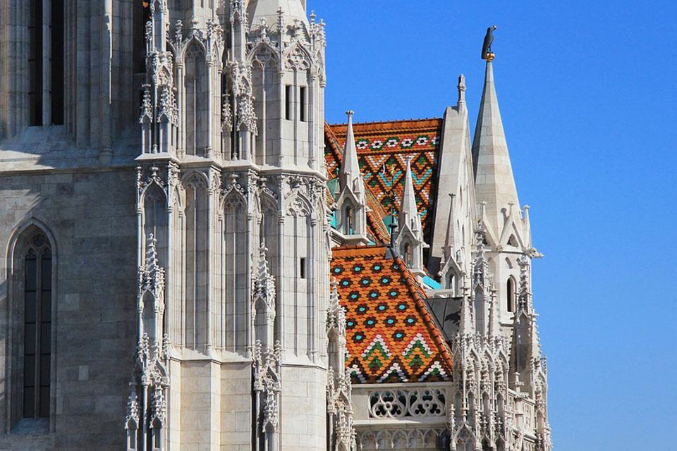 Budapest Matiaksen kirkko