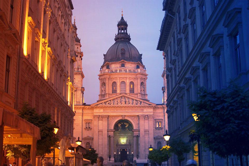 Tapanin basilika Budapest