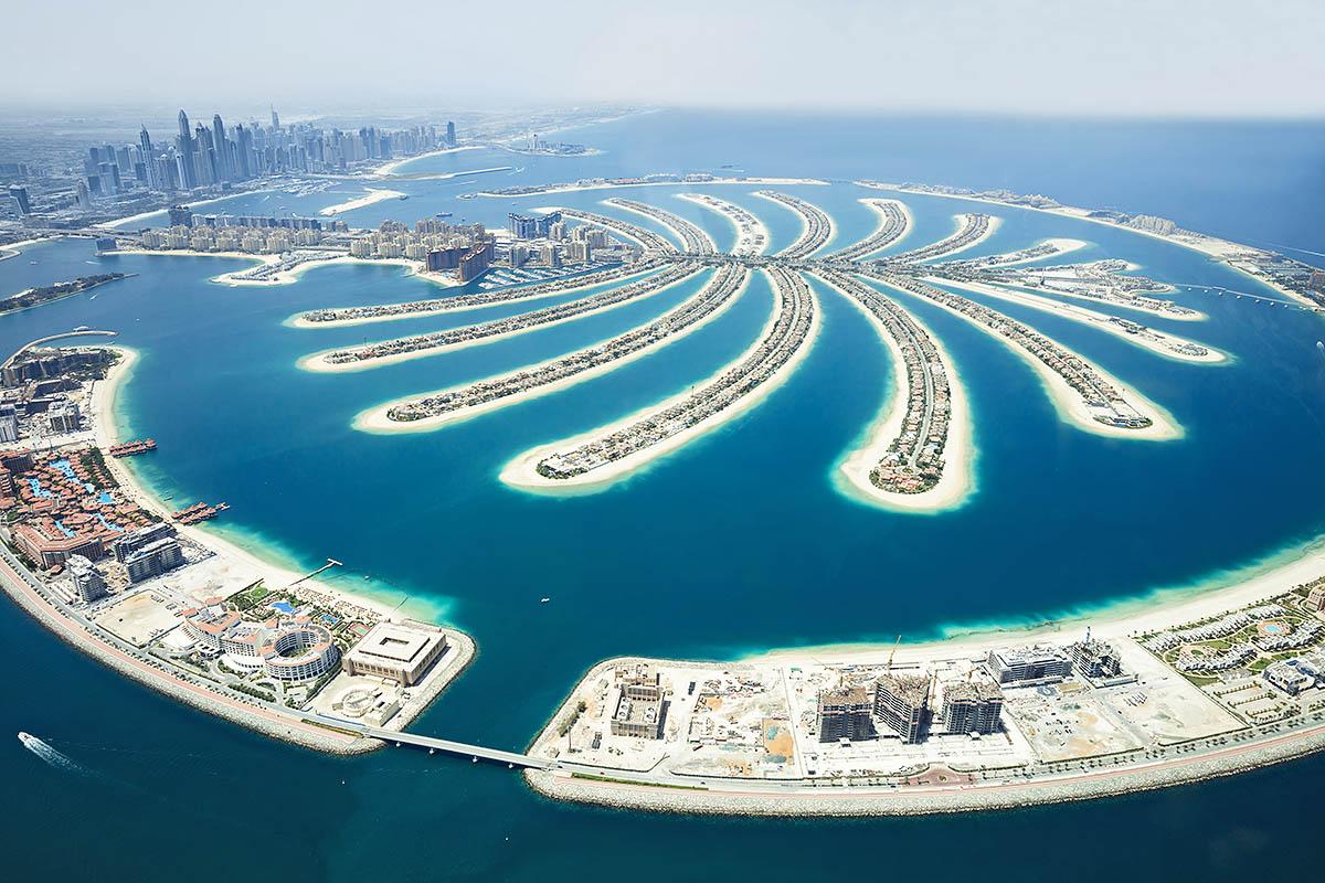 Dubai palmusaari
