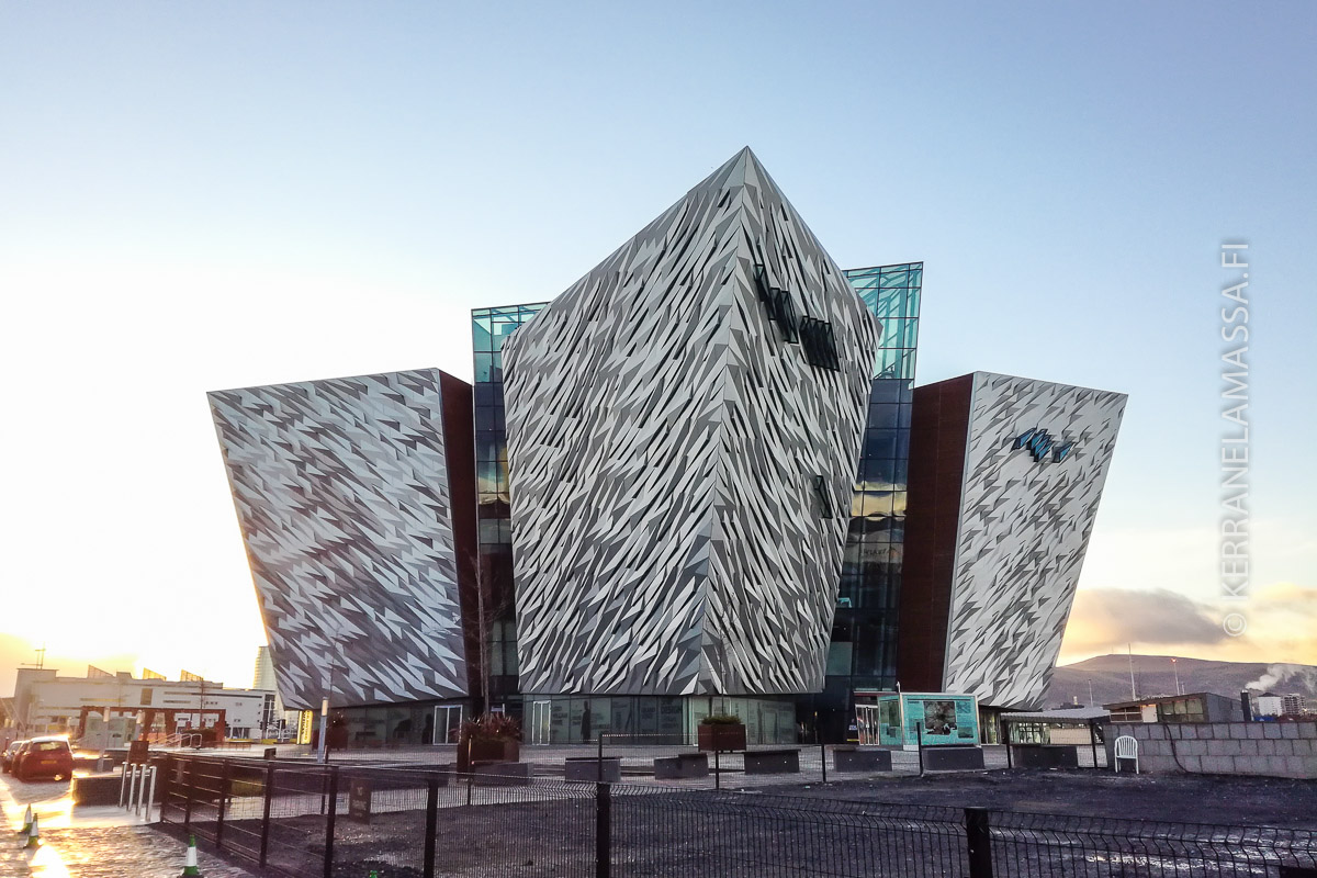 Titanic museo Belfast