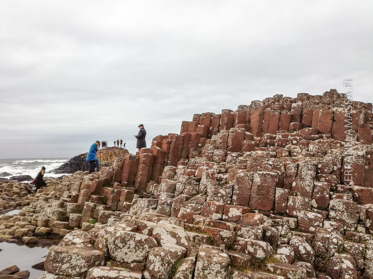 Giant's Causeway Pohjois-Irlanti
