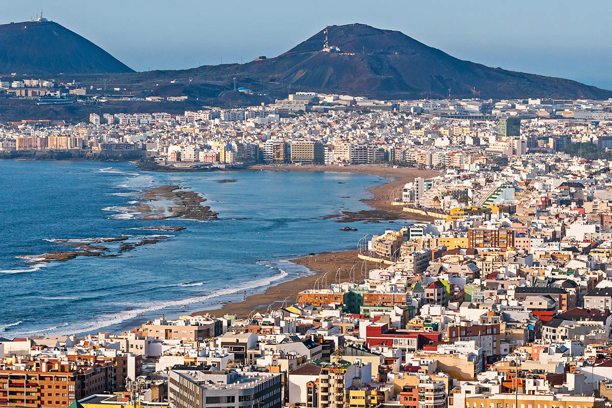 Las Palmas Opas Gran Canarian Kiehtovaan Keskukseen Kerran