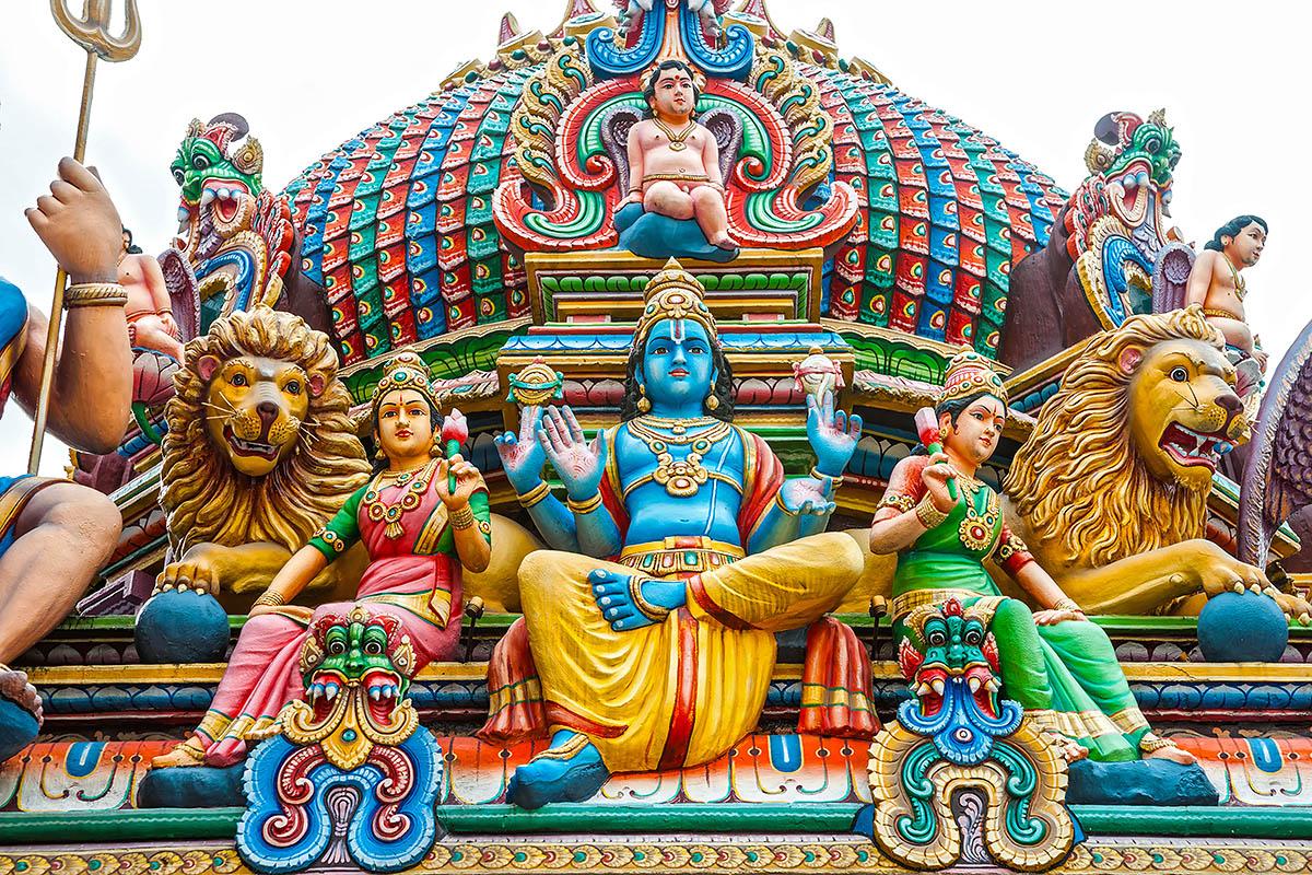 Singapore intialainen temppeli