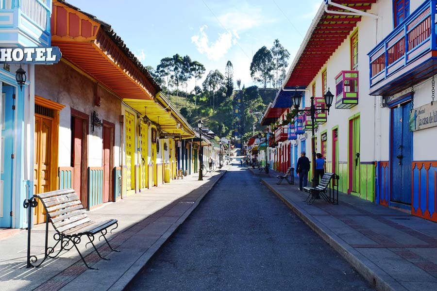 Kolumbia matkailu