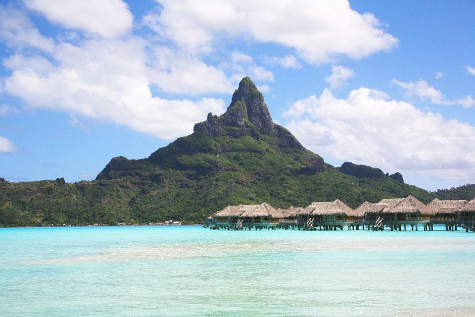 Bora Bora Ranskan Polynesia