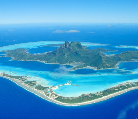 Bora Bora maailman kaunein saari