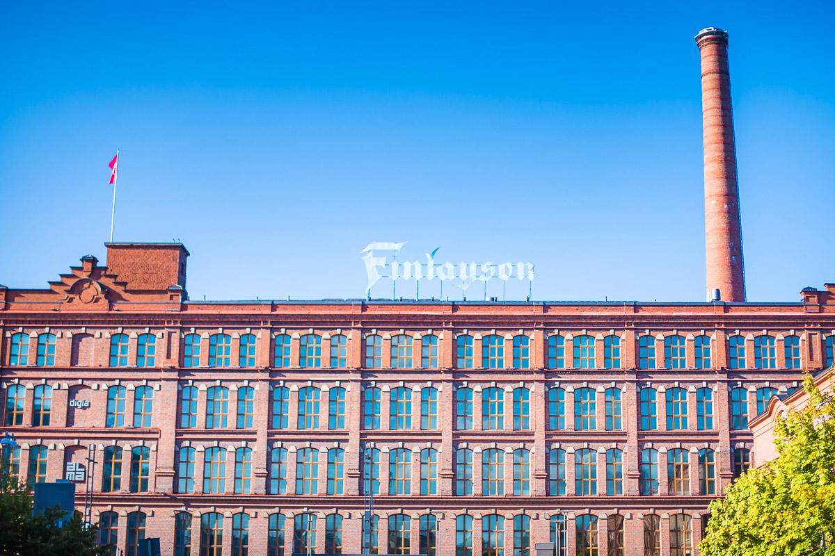 Finlaysonin tehdas Tampere