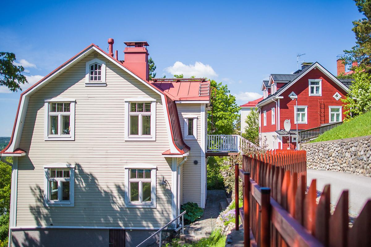 Tampereen kaupunginosat