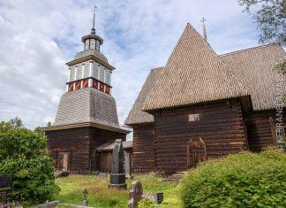 Petäjäveden vanha kirkko Keski-Suomi