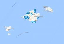 Mallorcan kartta