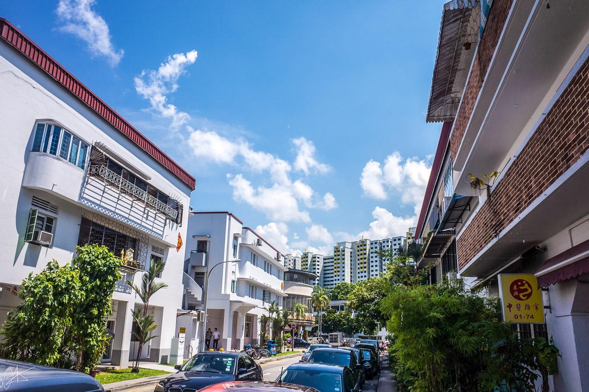 Singaporen kaupunginosat