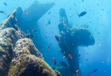 Bali sukellus Tulamben hylky Liberty