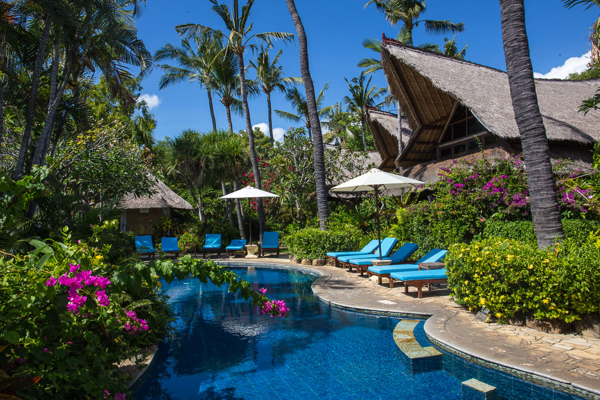 Suomalainen hotelli Bali