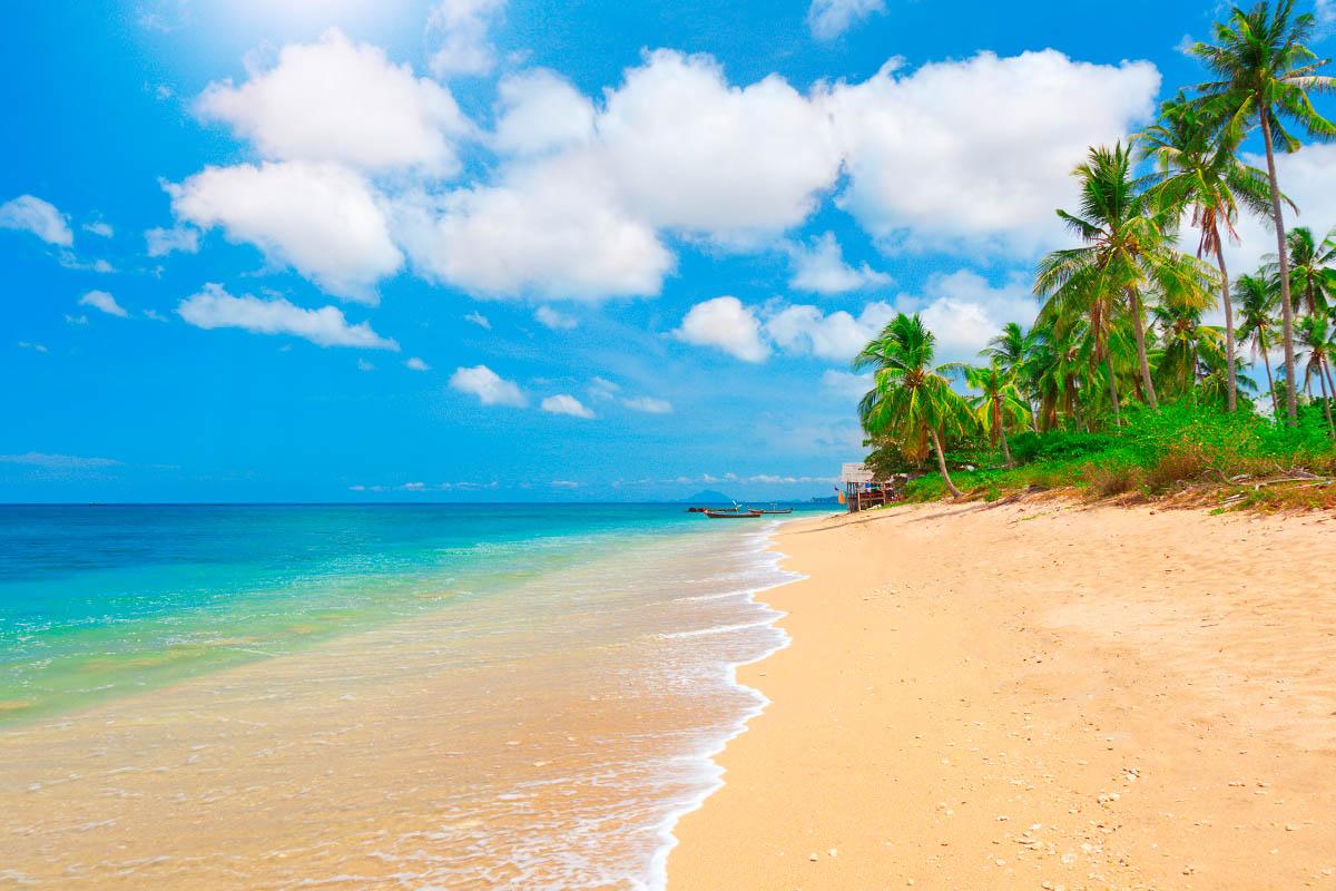 thaimaa lanta ranta
