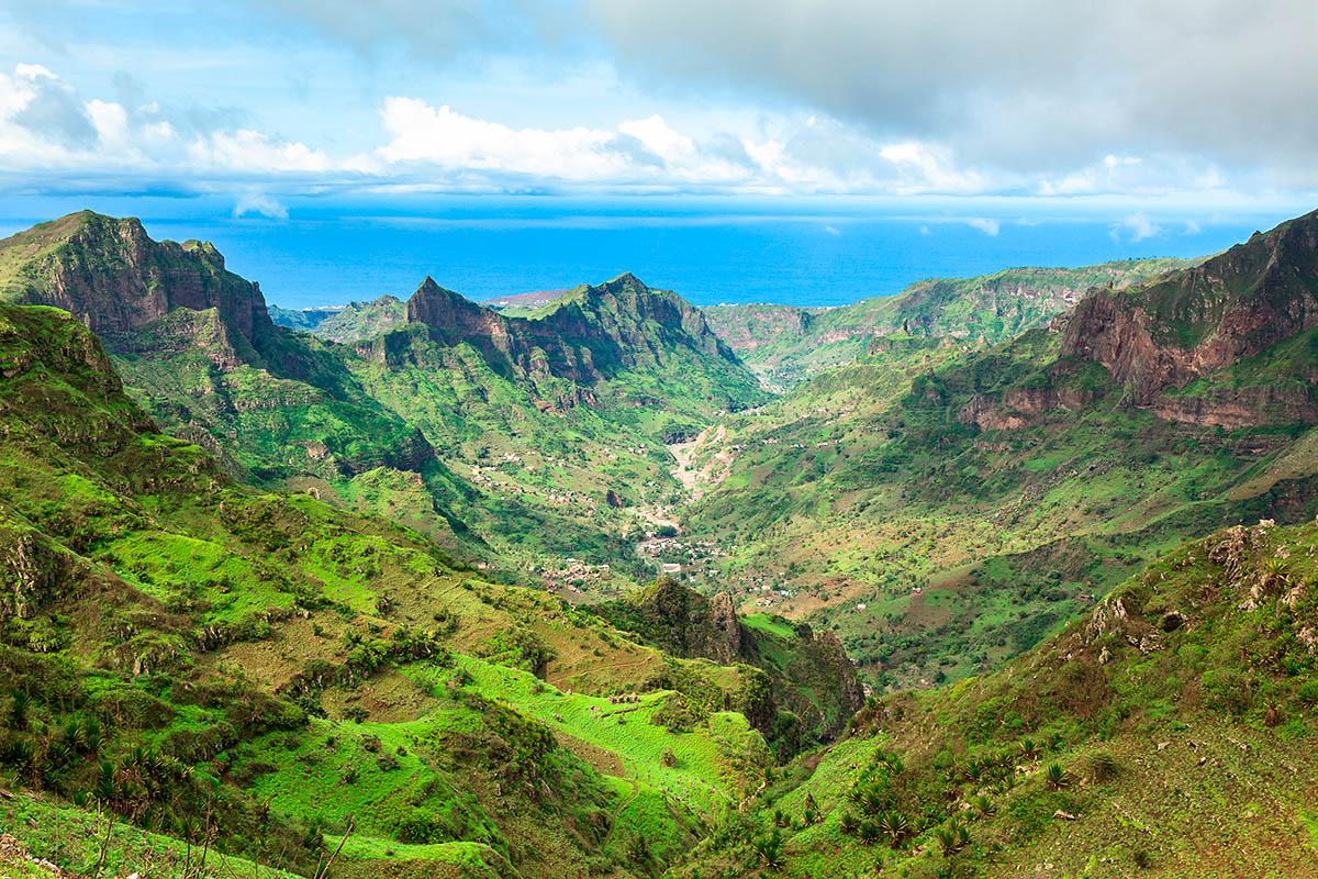 Kap Verde vuoristo
