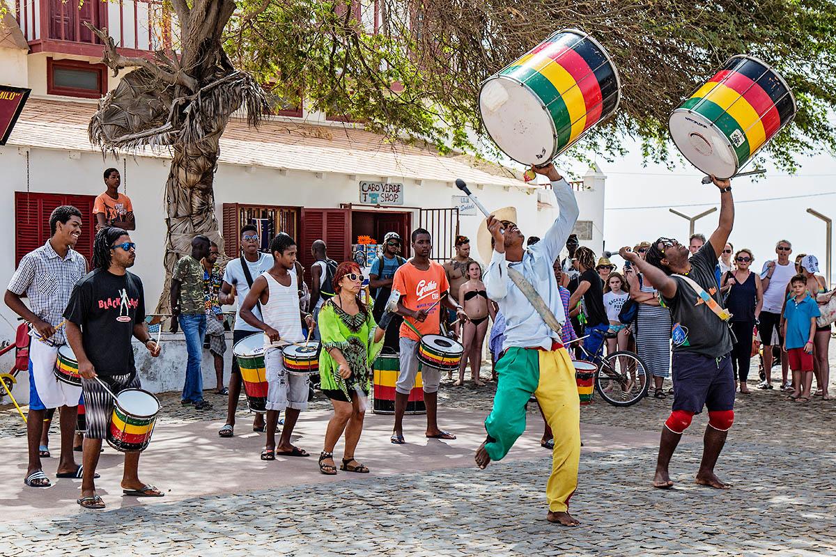 Kap Verde katumuusikko