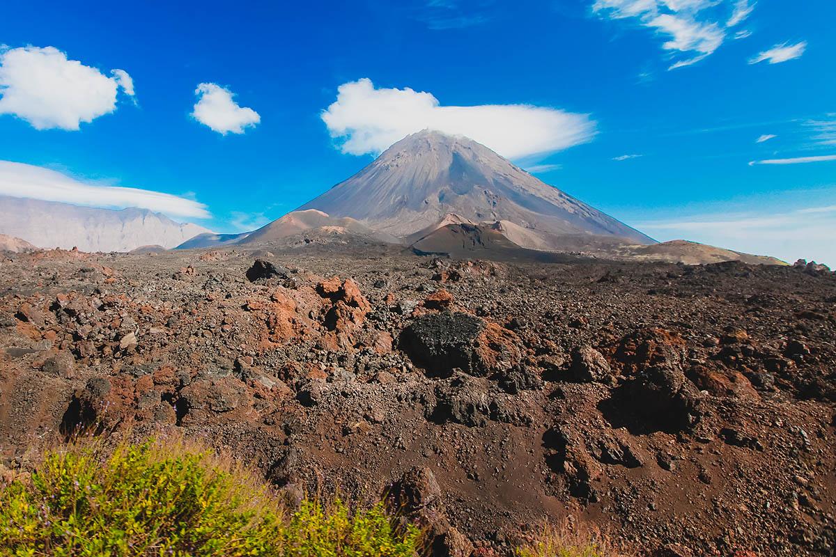 Kap Verde Pico do Fogo tulivuori