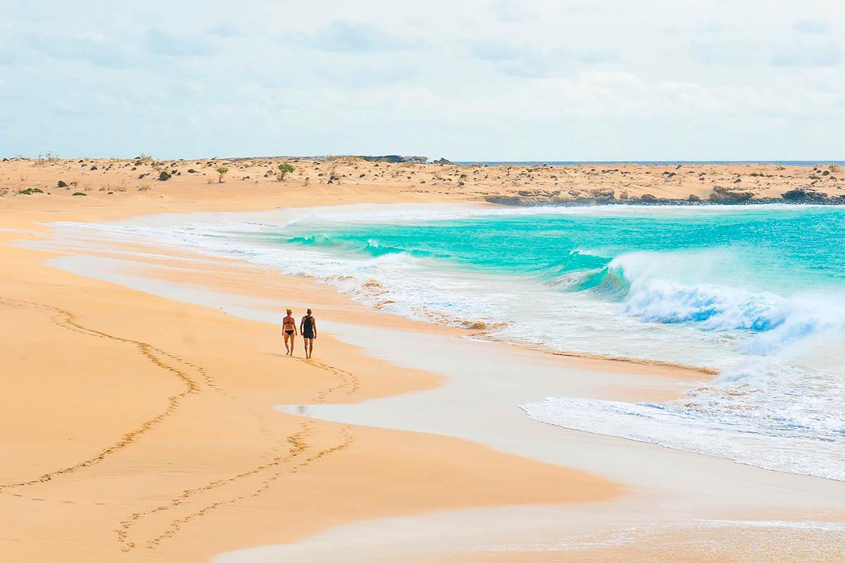 Kap Verde hiekkaranta