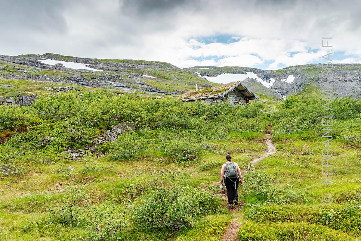 Norja Helgeland tunturi vaellus